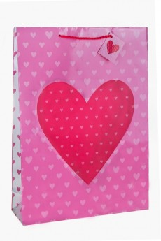 Пакет подарочный «Глянцевое сердце»
