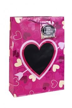 Пакет подарочный «Внутри сердца»