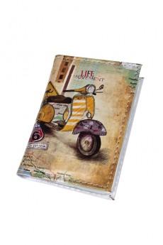 Держатель для дисконтных карт/визиток «Мопед»