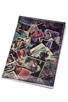 Обложка для паспорта «Почтовые марки»