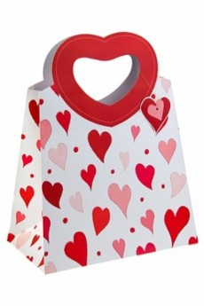 Пакет подарочный «Сердца любви»