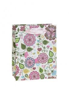 Пакет подарочный «Цветы»