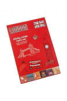 Записная книжка с мемо-листками «Лондон»