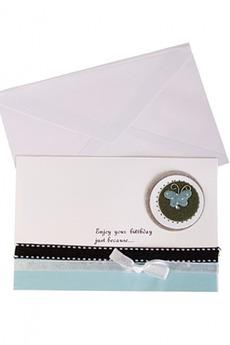 Открытка подарочная «Счастливого дня рождения»