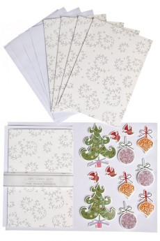 Набор для создания открытки «Укрась елочку»