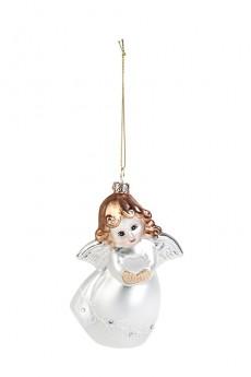 Украшение елочное «Ангелок с сердцем»