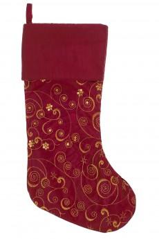 Рождественский носок «Волшебный узор»