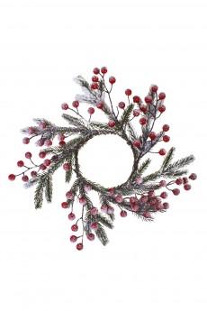 Композиция декоративная «Венок новогодний»