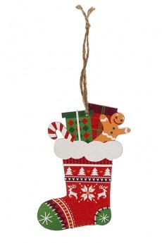 Украшение елочное «Рождественский носок»