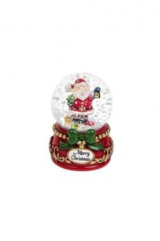 Шар со снегом «Дед Мороз с фонариком»