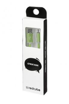 Кабель светящийся «USB-micro - USB»