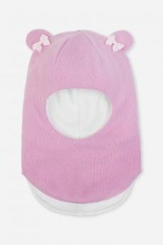 Шлем детский шерстяной «Ушки»