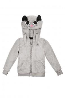 Курточка на молнии детская «Киска»