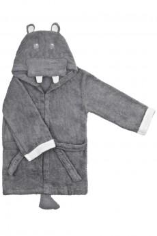 Халат-полотенце детский «Хиппо»