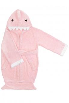 Халат-полотенце детский «Акуленок»
