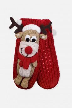Носки домашние детские «Рождественский олень»