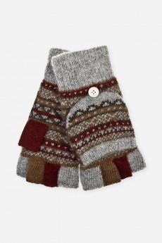 Перчатки-варежки шерстяные «Сэнди»