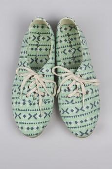 Эспадрильи со шнурками «Эрроу»