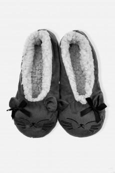 Тапочки домашние женские «Спящий котик»