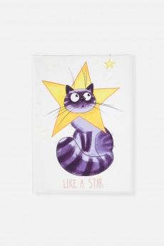 Обложка для паспорта «Звезданутый кот»
