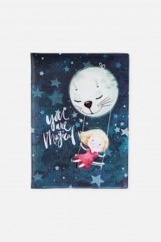 Обложка для паспорта «Луна-кэт»
