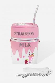 Сумка «Клубничное молоко»