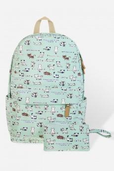 Рюкзак  школьный «Котики»