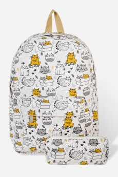 Рюкзак «Забавные коты»