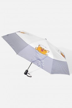 Зонт складной «Море-мяу»