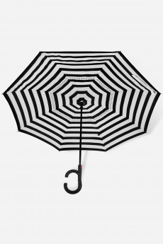 Зонт наоборот «Полоски»