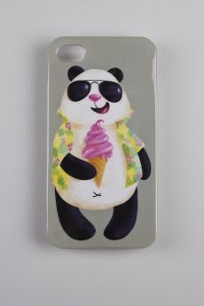 Чехол для iPhone 4/4S «Панда в отпуске»