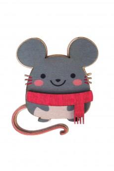 Значок «Веселый мышонок»