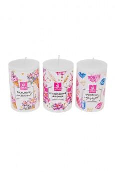 Набор свечей ароматизированных «Сочного настроения»