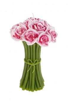 Свеча «Букет из роз»