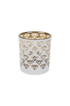 Подсвечник для свечи-таблетки «Бриллианты»