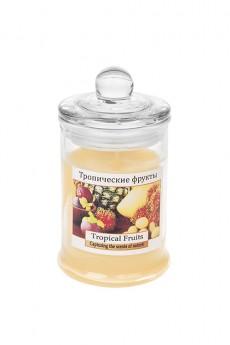 Подсвечник со свечой ароматизированный «Колба»
