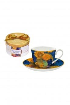 Чайная пара «Подсолнухи (Ван Гог)»