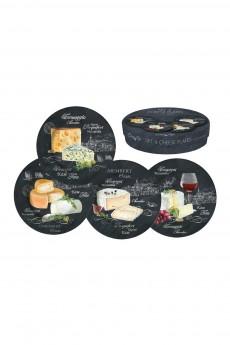 Набор тарелок «Мир сыров»