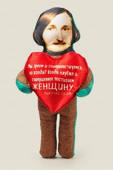 Игрушка «Гоголь с сердечком»