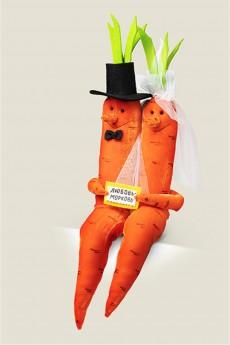 Игрушка «Любовь морковь Свадебная»