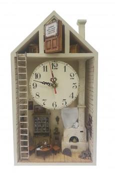 Часы настенные «Домик Домового»