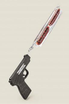 Решетка гриль «Пистолет Наградной Сосискоглушитель»