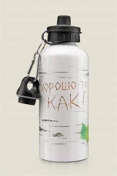 Бутылка для воды «Березка (Хорошо-то как!)»