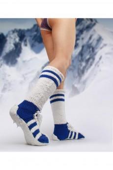 Носки «Гетры синие»