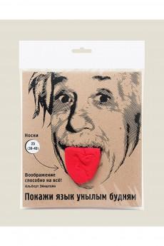 Носки «Покажи язык унылым будням