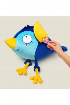 Игрушка «Синяя птица на счастье с кармашками для записочек»
