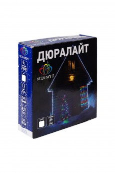 Дюралайт 24 LED белый, 14м «Дюралайт LED, свечение с динамикой (3W), 24 LED/м, белый, 14м»