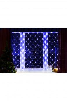 Гирлянда 1,5х1,5м 150 LED Синие «Сеть»
