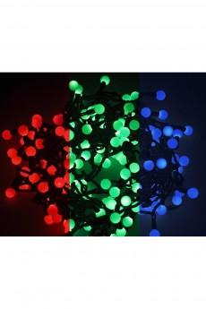 Гирлянда 5м, 30 диодов, цвет RGB «Мультишарики»