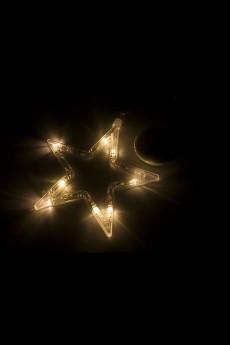 Фигура светодиодная на присоске «Звездочка»